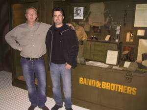 Ron Livingston Band of Brothers michel de trez