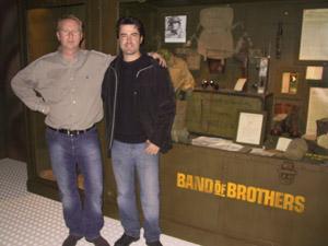 Ron Livingston Band of Brothers michel de trez